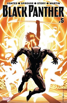 What the F*** T'Challa  Written By: Ta-Nehisi Coates  Art By: Chris Sprouse…