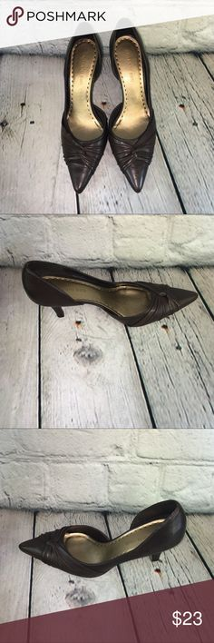 Gianni Bini Brown Pumps, Size 8 wide Gianni Bini Brown Pumps, Size 8 wide Gianni Bini Shoes Heels