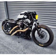 "Harley-Davidson Sportster on Instagram: ""Taken from: { @andreas_sch03ch7 }  ______________________________________  Tag #sportstergram  ________________________________________…"""