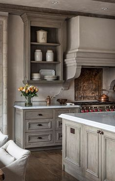 markcristofalo | ANCORA Love this kitchen with grey cabinets