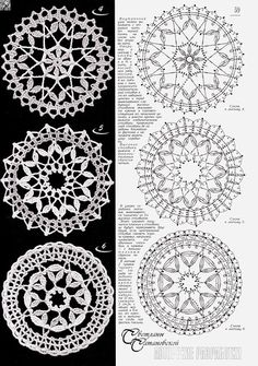 Best 12 PP said: Note to self- crochet these with huge hook, would look great really big. I say: Why the hell not – Page 736971926492505539 – SkillOfKing. Crochet Stars, Crochet Circles, Crochet Snowflakes, Crochet Round, Crochet Home, Thread Crochet, Crochet Stitches, Crochet Doily Diagram, Crochet Motif Patterns