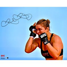"""Ronda Rousey Ultimate Fighting Championship Fanatics Authentic Autographed 16"""" x 20"""" UFC 190 Open Workouts Photograph - $119.99"""