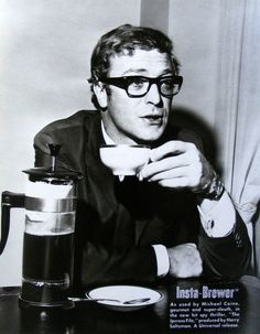 Michael Caine (1933- ) #coffee #celebrity #actor #michaelcaine