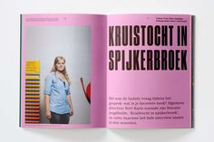 Creatie magazine, September 2014 - Fonts In Use