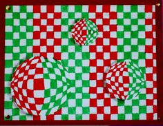 Tekenen en zo: Op art in de stijl van Victor Vasarely