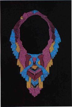 African Bead Designs - Fiber Jewelry
