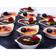 Deserturi simple sau sofisticate pentru evenimente Catering, Pudding, Desserts, Food, Tailgate Desserts, Deserts, Catering Business, Gastronomia, Puddings