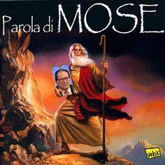 ITALIAN COMICS - Il Mose e il nuovo miracolo della divisione delle…bustarelle