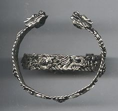 *phoenix and dragon Miao tribal bracelets*
