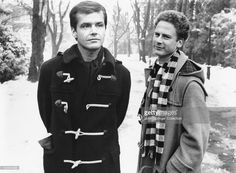 Jack Nicholson as Jonathan Fuerst and Art Garfunkel as his friend Sandy in Carnal Knowledge (1971).