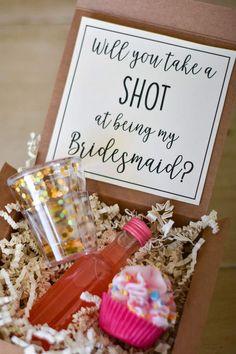 Etsy Be my Bridesmaid Gift, Will you be my Bridesmaid, Maid of Honor Proposal, Bridesmaid Shot Glass, Fun
