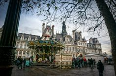 On the agenda are BHV and 'Galeries Lafayette'. In between the two is the City Hall from which you can see the Notre Da… Adventure Travel, Louvre, Street View, Europe, France, City, Building, Adventure Tours, Buildings