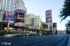 Early morning view of Las Vegas Boulevard #Photography