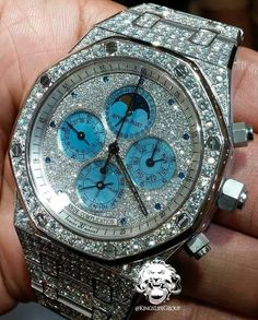 Audmars Piguet in Platinum with Flawless Diamonds by KingsLife