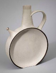 """Bruno Gambone was born in Vietri sul Mare (SA) in 1936. At the age of fourteen he began to have his first contacts with ceramics in his father's Florentine workshop. In 1963 he moved to the United States where he was engaged in painting, sculpture, cinema and theatre. n 1969 he returned to dealing with the ceramics sector. He is a member of the """"Consiglio Nazionale della Ceramica""""."""