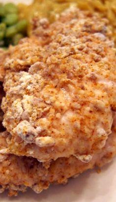 Pecan Crusted Chicken Tenders.....