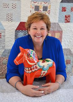 Jenny Doan Quilts has become a household name thanks to her popular YouTube tutorials for Quilting Deals - Missouri Star Quilt Co. She is beloved worldwide for her approachable demeanor and contagious enthusiasm for quilting, works tirelessly to create patterns and tutorials that help to convey the shop's personality, and has truly become the heart of the business. I am so thrilled to partner with her on her debut Aurifil Thread Collection, #TheHeritageCollection. To read Jenny's interview…