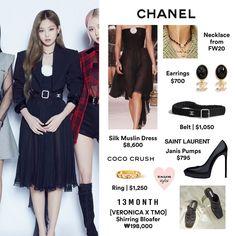 Kpop Fashion Outfits, Blackpink Fashion, Celebrity Outfits, Casual Outfits, Cute Outfits, Ariana Grande Fragrance, Chanel Outfit, Jennie Blackpink, Vivienne Westwood