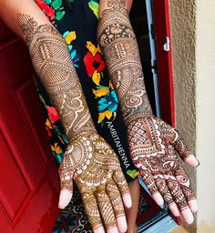 DM or 📧 amritahenna@gmail.com for Bridal Henna Bookings! #throwbackthursday #instadaily #henna #orlandohenna #hennaart #hennadesign #mehndi… Wedding Mehndi, Bridal Mehndi, Mehendi, Henna Art, Henna Designs, Orlando, Traditional, Tattoos, Artist