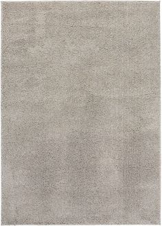NEW Shag Solid Beige Area Rug