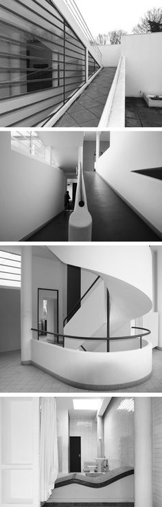 ville-savoye-black-and-white