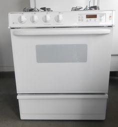 Appliance City - GE PROFILE GAS  RANGE WHITE SLIDE IN, $499.00 (http://www.appliancecity.info/ge-profile-gas-range-white-slide-in/)