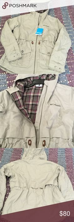 NWT W's M Columbia Ridgeway Jacket Gorgeous, new with tags jacket by Columbia. Ridgeway style in Flint Grey, size medium. SUPER soft full flannel lining - even the hood and all the way down the sleeves!! Wish I had exchanged sooner (needed a smaller size) - missed the return window on this beauty. Columbia Jackets & Coats Utility Jackets