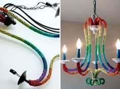 20 DIY Chandeliers to Brighten Up Your Space | Brit + Co.