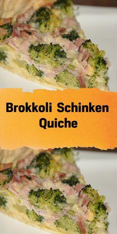 Quiche de jamón y brócoli - Brócoli – jamón – quiche. Más de 106 comentarios y me pareció delicioso. Ham Quiche, Broccoli Quiche, Healthy Eating Tips, Healthy Nutrition, Quiches, Recipe Organization, Vegetable Drinks, Calories, Brunch