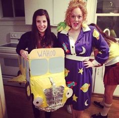 This magical pair from The Magic School Bus. | 23 Ridiculously Clever Halloween Costumes Every TV Lover Will Want
