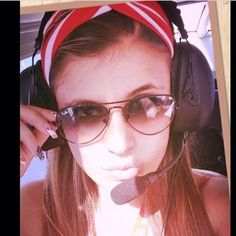 Most Popular Female Pilots from all Over the World: Pilot Kelly Gouveia  Caracas, Venezuela