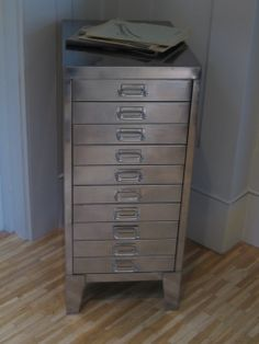 vintage filing cabinet for photos and prints - Google Search