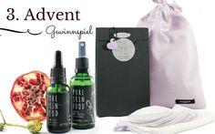 3. Adventsgewinnspiel: Pure Skin Food Geschenkset mit waschbaren Reinigungspads aus Bio-Baumwolle und Fairtrade-Produktion!