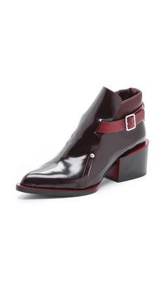 Short boots from Jil Sander