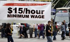 The fight for a $15 minimum wage spans from Seattle to Chicago.