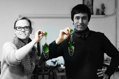 Marta y Daniel, artífices de las joyas personalizadas de Koetània