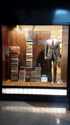 """ALFRED DUNHILL,London,UK, """"HOMEWORK"""",(Because 8 hours at the office wasn't enough), pinned by Ton van der Veer"""