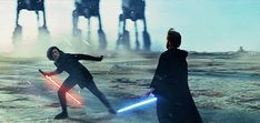 the moon shall lead you ever onward dark traveler - Ideas of Star Wars Kylo Ren - pixelrey: Rey doing the same reverse grip move as Kylo; presumably because she picked up his lightsaber fighting style through their bond (requested by anon). Star Wars Kylo Ren, Star Citizen, Luke Skywalker, Reylo, Lightsaber Fighting Styles, Sabre Laser, Star Wars Sequel Trilogy, Science Fiction, Disney Princes