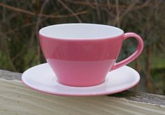 Starbucks Coffee Company Pink Heart Mug Plate Set Cup Saucer Valentine Love 2005  | eBay