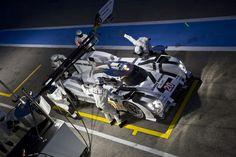 Porsche brand new endurance race car, the 919 Hybrid, was tested at the track for the very first time, ahead of 2014 World Endurance ...
