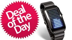 This LED Matrix Watch Is Your Complicated-Math-Bling Deal of the Day