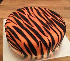 Groarr!! Ein Tiger Kuchen für alle Raubkatzen da draußen.