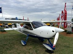 The Tecnam P2008 is another great light sport aircraft. Built more traditionally out of Aluminum by the Italian manufacturer Tecnam. This is another great personal transportation machine for the light sport crowd. Fast, easy to fly and maintain this is another great example of aviation tech.