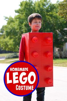 How to Make a Lego Costume