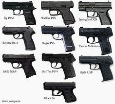 9mm compacts comparison (RRViper) Tags: hk chart 26 millenium pro sw springfield mp sig handgun comparison taurus kel usp xd compact tec 9mm glock beretta pps walther sauer ruger subcompact px4 p250 pf9