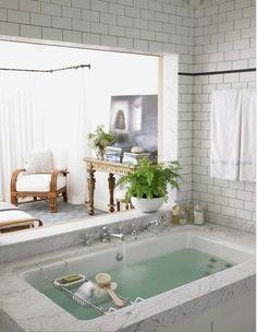 Chris Barrett Design master bathroom