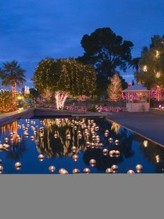 WHAT A BEAUTIFUL AND ROMANTIC SETTING FOR YOUR OUTDOOR WEDDING RECEPTION.....IF YOU HAVE A POOL OR POND IN YOUR WEDDING RECEPTION AREA,DON'T MISS A GREAT OPPERTUNITY TO CREATE A UNIQUE AND ROMANTIC ATMOSPHERE WITH AN EASY AND INEXPENSIVE DIY DECORATIVE POOL/POND.....A DRAMATIC STATEMENT AND EFFECT IN THE EVENING THAT HIGHLIGHTS YOUR UNFORGETTABLE WEDDING CELEBRATION !!!!! (Don't forget: anchor the candles,to keep them in place... Cherie Cullum