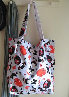 The 'Anywhere Tote' – Tote Bag Tutorial