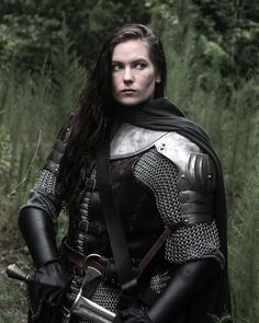 Post with 3597 votes and 134139 views. Tagged with awesome, medieval, armor, womenfashion, itreallywhipsthellamasass; Women in armor compilation Armadura Medieval, Female Armor, Female Knight, Lady Knight, Medieval Armor, Medieval Fantasy, Medieval Gown, Fantasy Inspiration, Character Inspiration