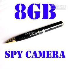 Hidden Spy Camera Pen - SEE THE WORLD'S TOP NIGHT-VISION WIFI SPY CAMERA AT http://www.spygearco.com/SecureShotHDLiveViewIHomeSpyCamDVR.htm